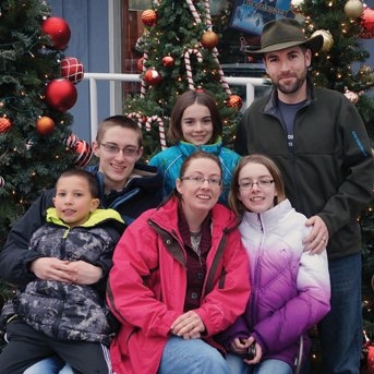 Large loving family is adoptive home to an older child in foster care